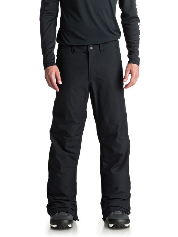 0 Estate Short Length Snow Pants Black EQYTP03098 Quiksilver