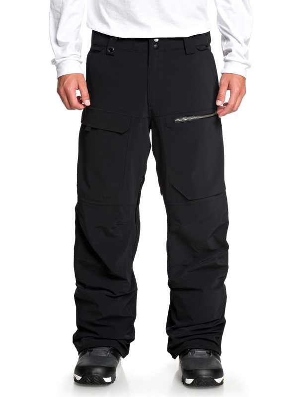 0 Travis Rice Stretch - Snow Pants Black EQYTP03110 Quiksilver