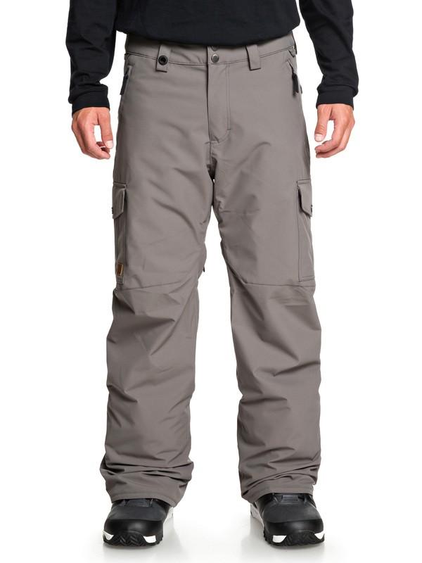 0 Porter Snow Pants Black EQYTP03118 Quiksilver