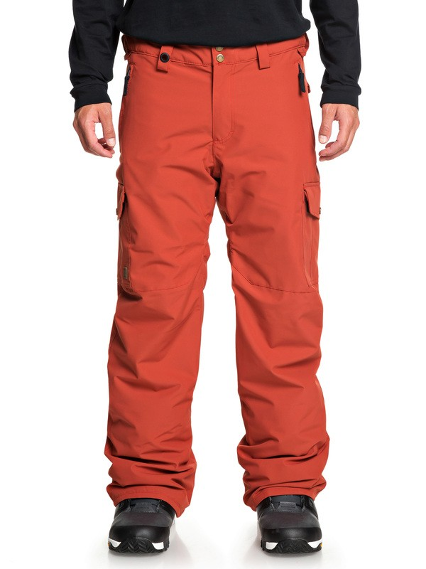 0 Porter Snow Pants Red EQYTP03118 Quiksilver