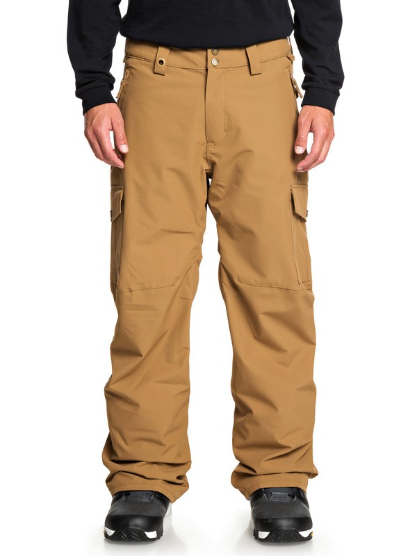 0 Porter Snow Pants Brown EQYTP03129 Quiksilver