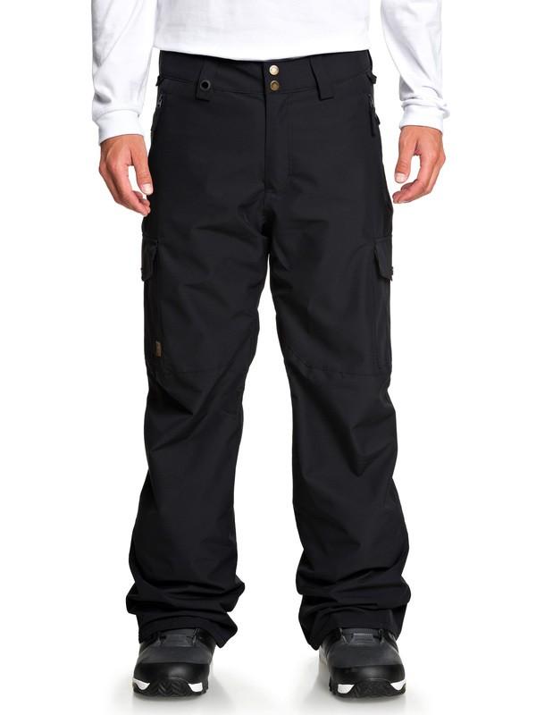 0 Porter Snow Pants Black EQYTP03129 Quiksilver