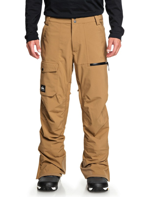 0 Utility Snow Pants Brown EQYTP03130 Quiksilver