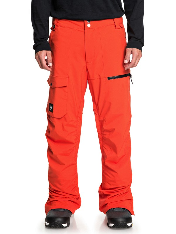 0 Utility Snow Pants Orange EQYTP03130 Quiksilver