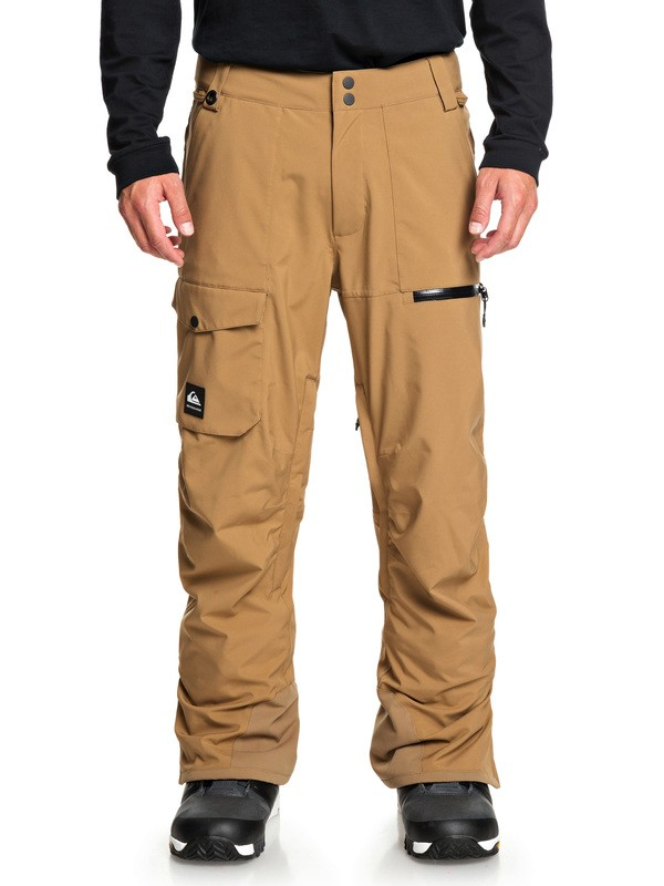 0 Utility Snow Pants Brown EQYTP03131 Quiksilver
