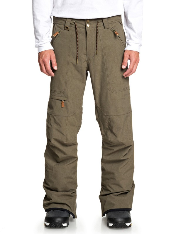 0 Elmwood Snow Pants Brown EQYTP03132 Quiksilver