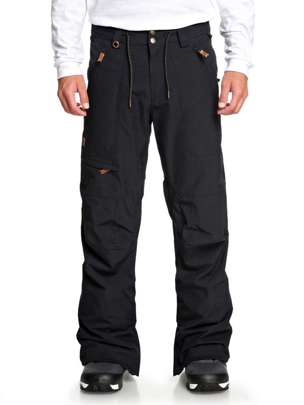 0 Elmwood Snow Pants Black EQYTP03132 Quiksilver