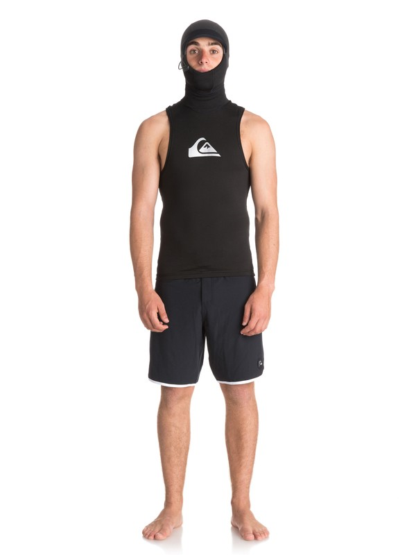 0 2mm Syncro Plus - Hooded Wetsuit Vest Black EQYW003000 Quiksilver