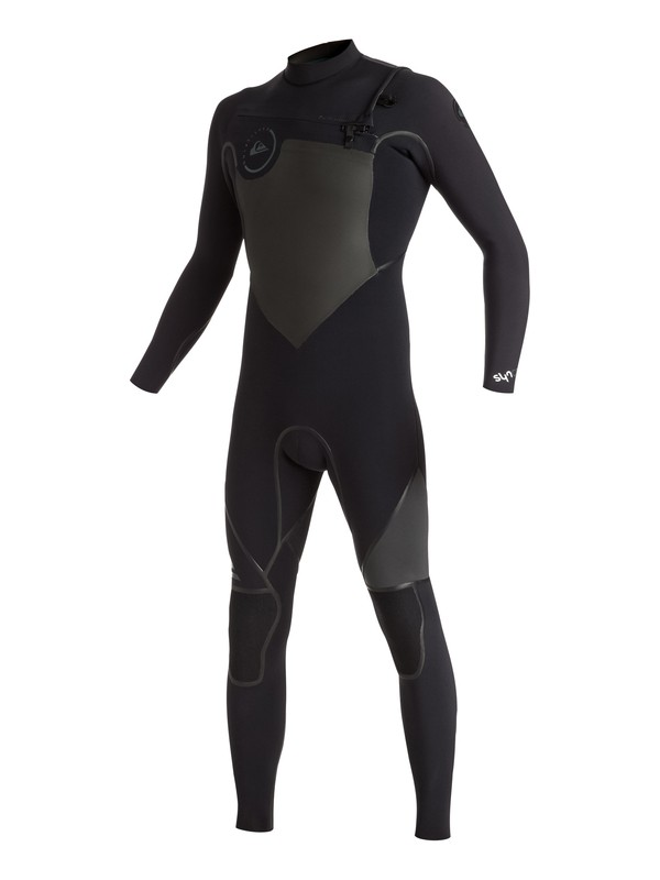0 Syncro 4/3mm - Chest Zip Full Wetsuit Black EQYW103021 Quiksilver