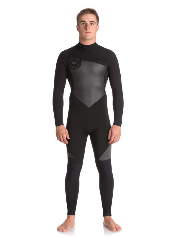 0 3/2mm Syncro Series - Traje de Surf con Cremallera en la Espalda para Hombre Negro EQYW103036 Quiksilver