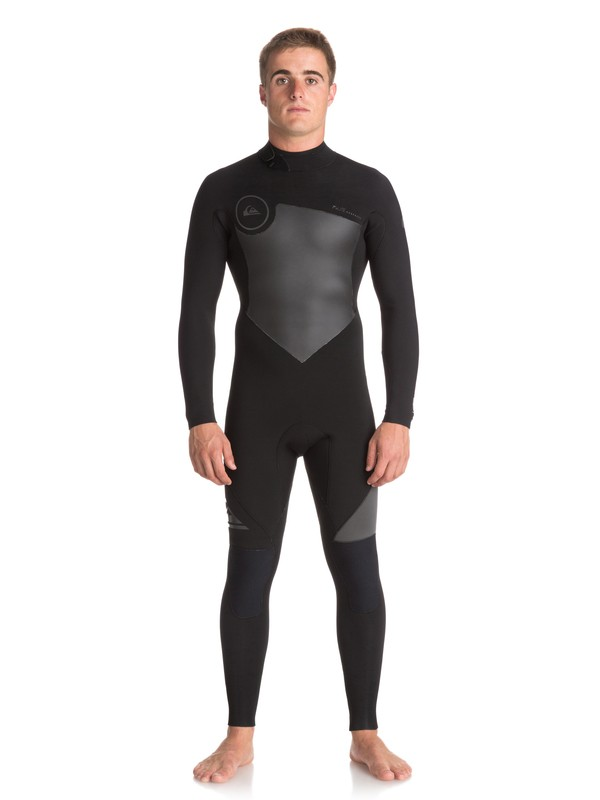 0 3/2mm Syncro Series - Back Zip GBS Wetsuit for Men Black EQYW103037 Quiksilver
