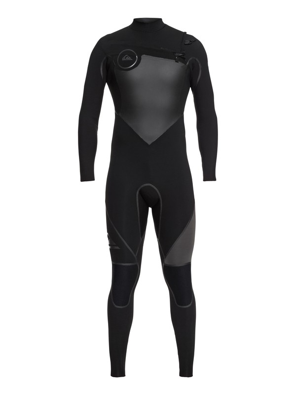 0 3/2mm Syncro Plus Chest Zip Wetsuit Black EQYW103040 Quiksilver