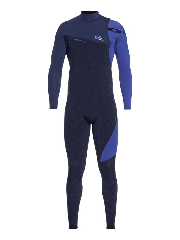 0 4/3mm Highline Lite - Zipperless Wetsuit Blue EQYW103061 Quiksilver