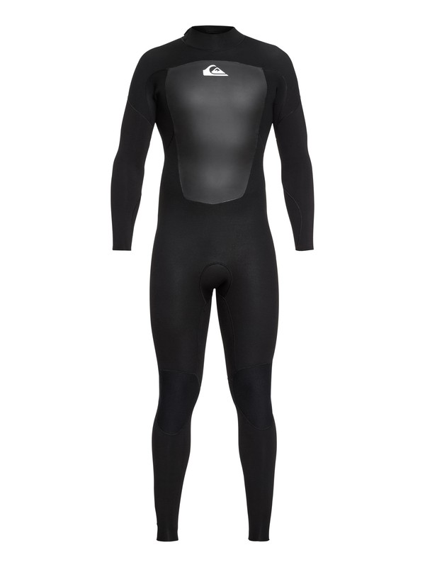 0 3/2mm Prologue Back Zip Wetsuit Black EQYW103068 Quiksilver