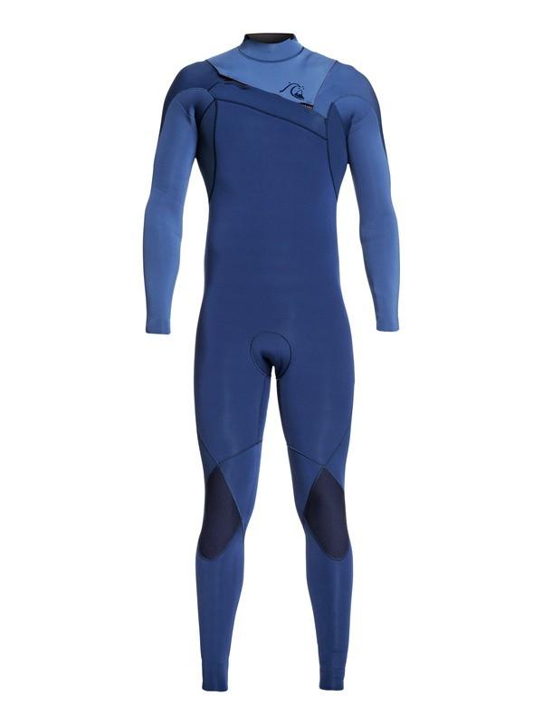 0 4/3mm Highline Limited Monochrome - Traje de surf con cremallera en el pecho para Hombre Azul EQYW103074 Quiksilver