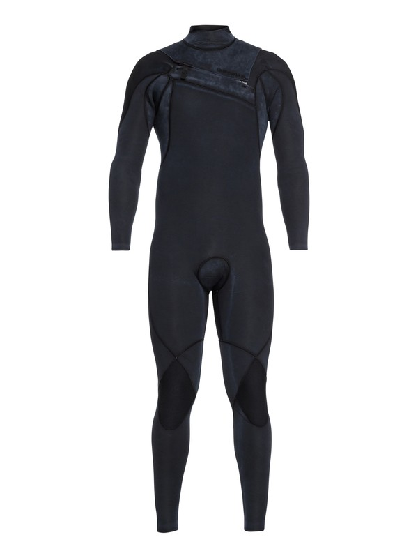 0 3/2mm Highline Limited Monochrome Chest Zip Wetsuit Black EQYW103075 Quiksilver