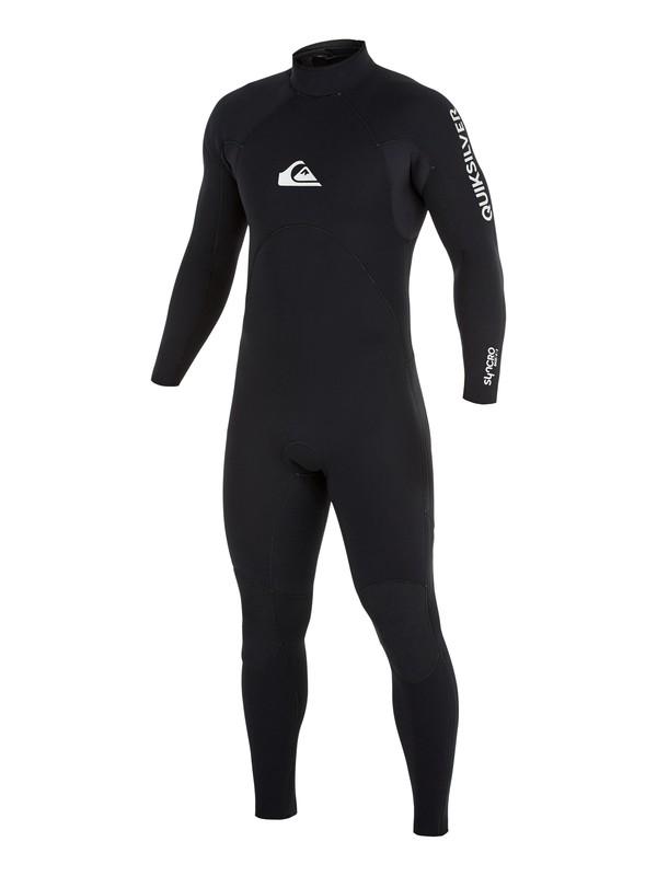 0 5/4/3mm Rental Series Back Zip Wetsuit Black EQYW103076 Quiksilver