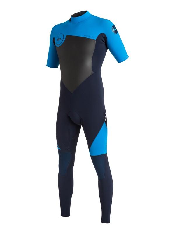 0 Syncro 2/2mm - Short Sleeve Fullsuit Blue EQYW303003 Quiksilver