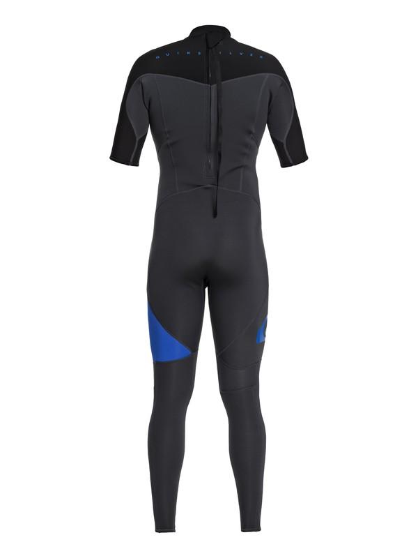 2/2mm Syncro Series - Short Sleeve Back Zip Flt Springsuit for Men  EQYW303005