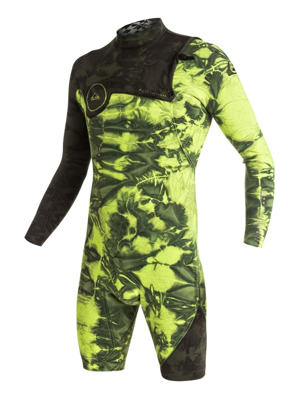 0 Highline Zipperless 2/2mm - Zipperless Long Sleeve Springsuit Green EQYW403001 Quiksilver