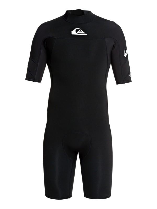 2/2mm Syncro - Short Sleeve Back Zip FLT Springsuit for Men  EQYW503013