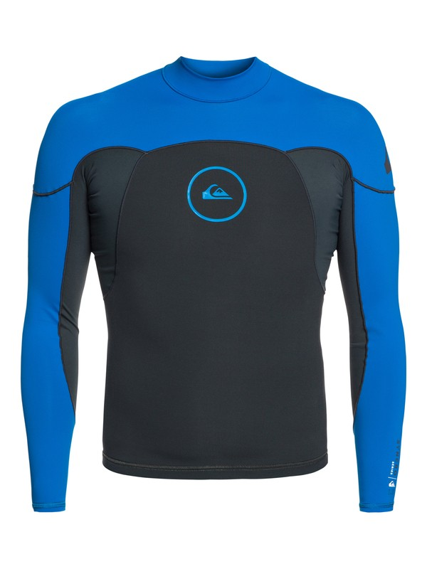 0 1mm Syncro Series - Long Sleeve Neoprene Surf Top for Men Blue EQYW803008 Quiksilver
