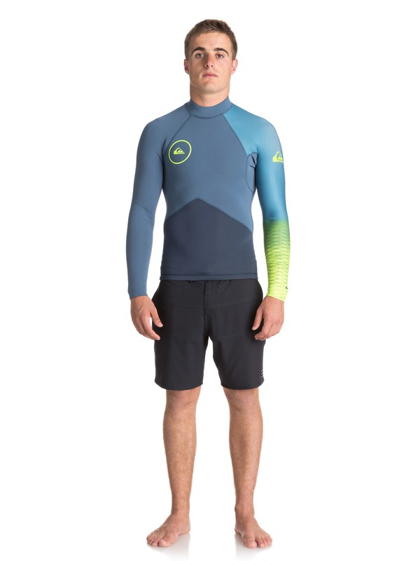 0 2mm Highline Plus Long Sleeve Neoprene Top  EQYW803009 Quiksilver