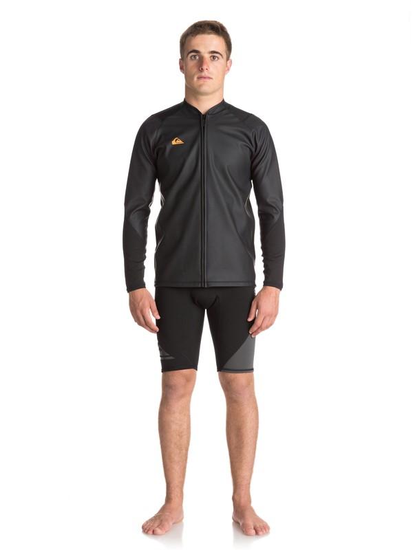 0 Waterman - Paddle Jacket for Men Black EQYW803013 Quiksilver