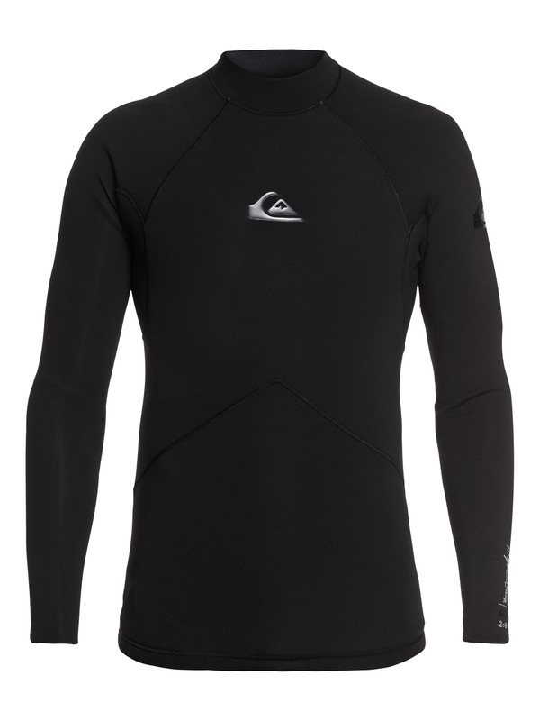 0 2mm Highline Long Sleeve Wetsuit Top Black EQYW803017 Quiksilver