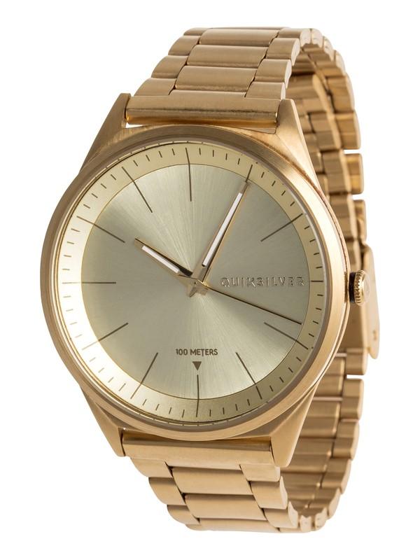0 Bienville Metal - Analoge Uhr für Männer Gelb EQYWA03013 Quiksilver