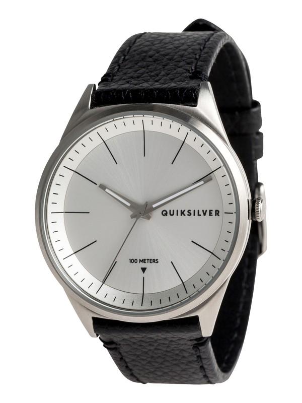 0 Bienville Leather - Analoge Uhr für Männer Grau EQYWA03014 Quiksilver