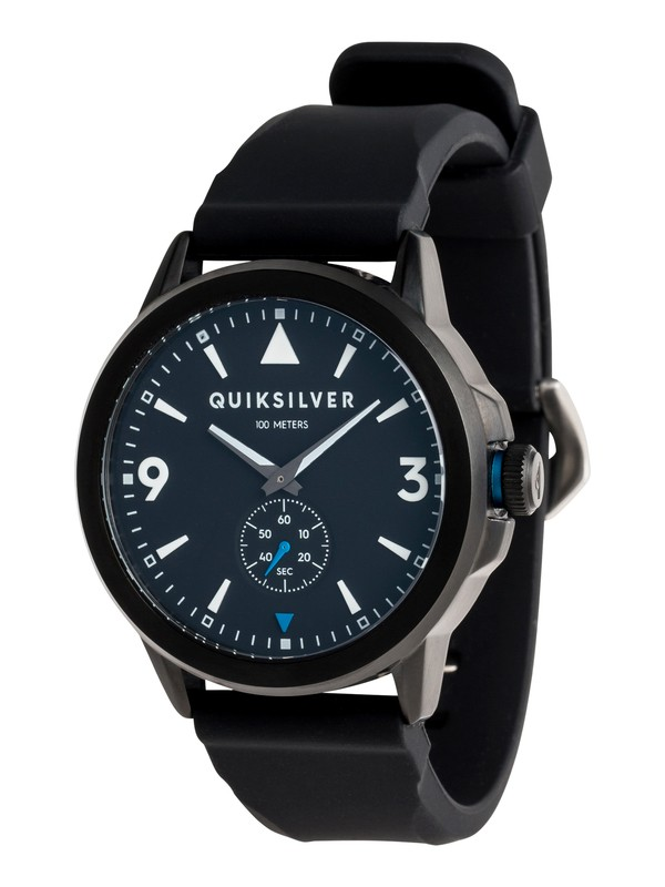 0 Kombat Silicone - Analogue Watch for Men Black EQYWA03018 Quiksilver