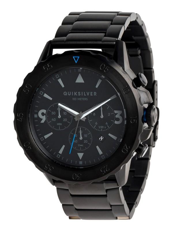 0 B-52 Chrono Metal - Analoge Uhr für Männer Schwarz EQYWA03019 Quiksilver