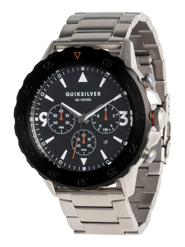 0 B-52 Chrono Metal - Analoge Uhr für Männer Grau EQYWA03019 Quiksilver