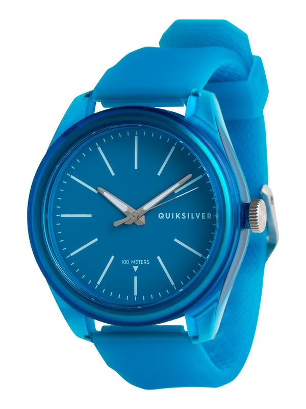 0 Furtiv - Analoge Uhr für Männer Blau EQYWA03022 Quiksilver