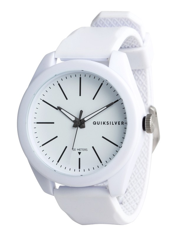 0 Furtiv - Analoge Uhr für Männer Weiss EQYWA03022 Quiksilver