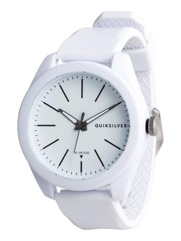 0 Furtiv - Reloj Analógico para Hombre Blanco EQYWA03022 Quiksilver