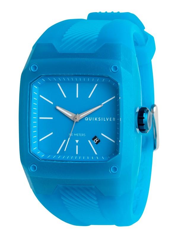 0 Tactik - Analoge Uhr für Männer Blau EQYWA03023 Quiksilver