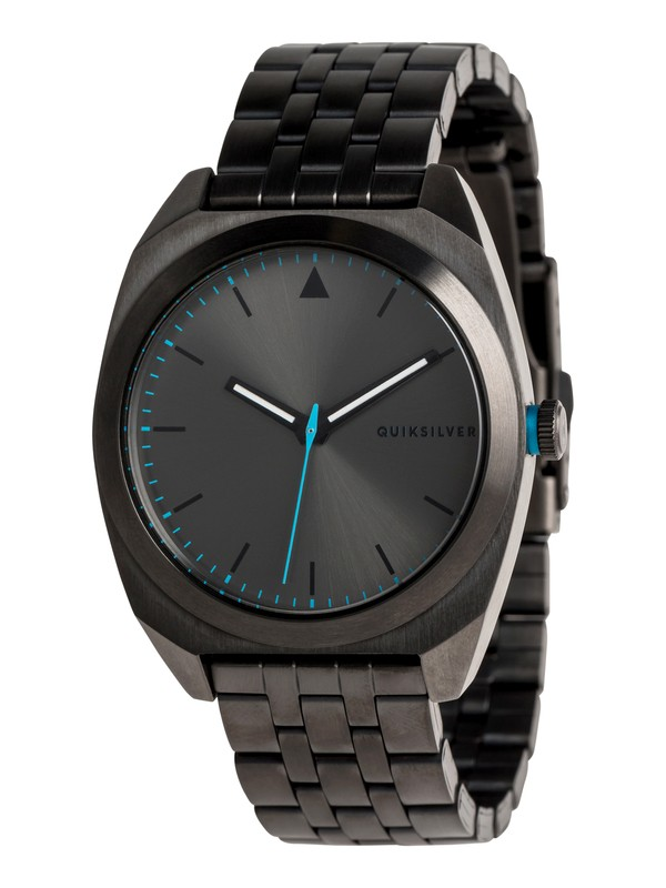 0 The PM Metal - Analoog Horloge voor Heren Black EQYWA03030 Quiksilver