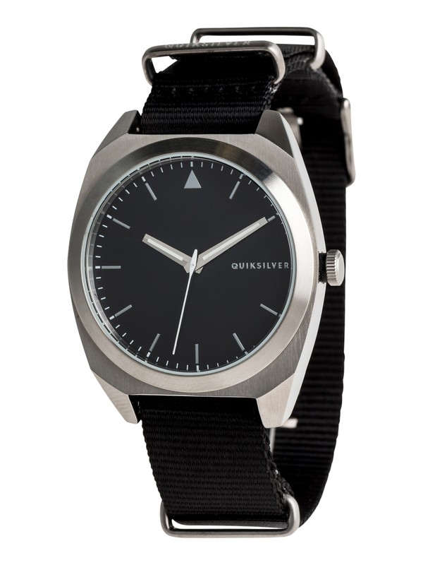 0 The PM Nato - Analogue Watch for Men Grey EQYWA03032 Quiksilver
