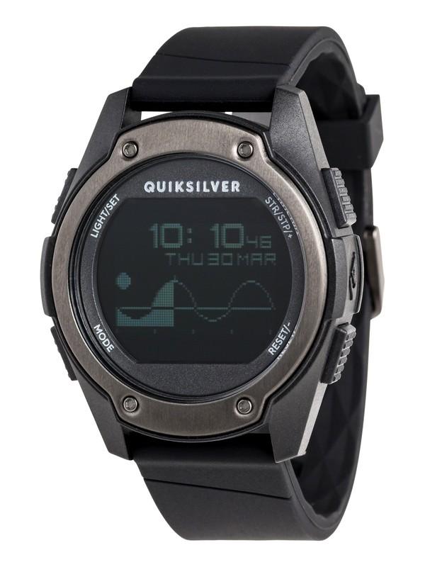 0 Stringer Tide - Reloj Digital para Hombre Negro EQYWD03005 Quiksilver