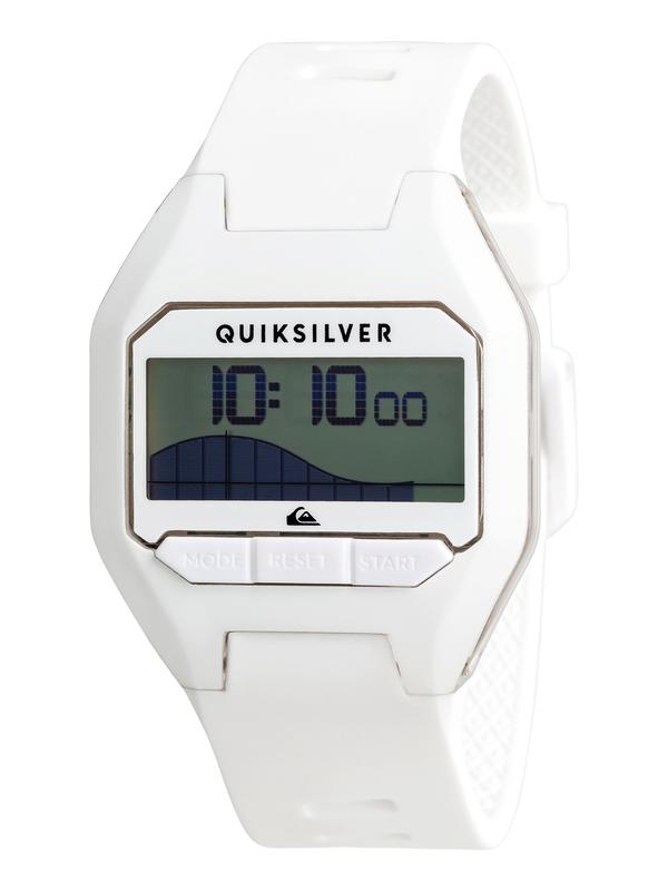 0 Addictiv Pro Tide Digital Watch White EQYWD03006 Quiksilver