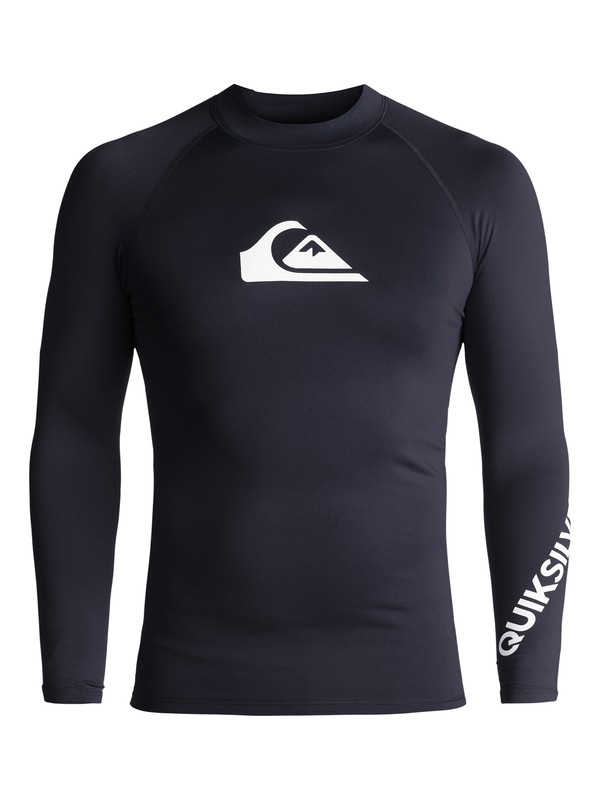 0 All Time Long Sleeve UPF 50 Rash Guard  EQYWR03034 Quiksilver