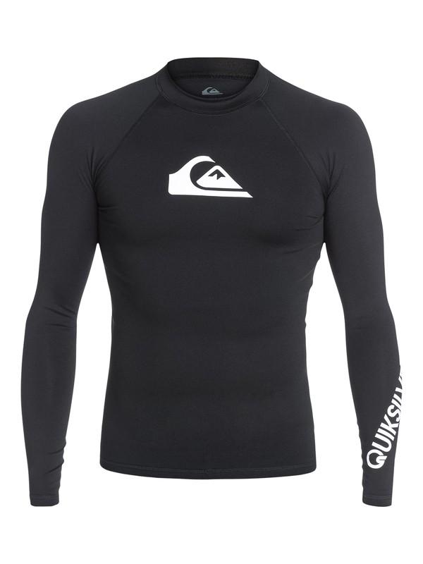 0 All Time - Licra de surf de maga larga UPF 50 para Hombre Negro EQYWR03034 Quiksilver