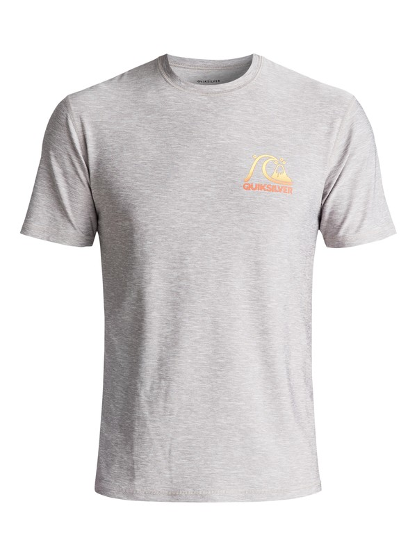 0 Heritage Surf Amphibian UPF 50 Surf Tee Grey EQYWR03092 Quiksilver