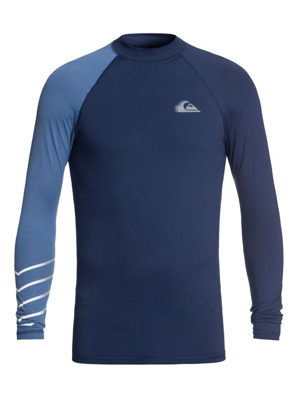 0 Active - Licra de surf de maga larga UPF 50 para Hombre Azul EQYWR03113 Quiksilver
