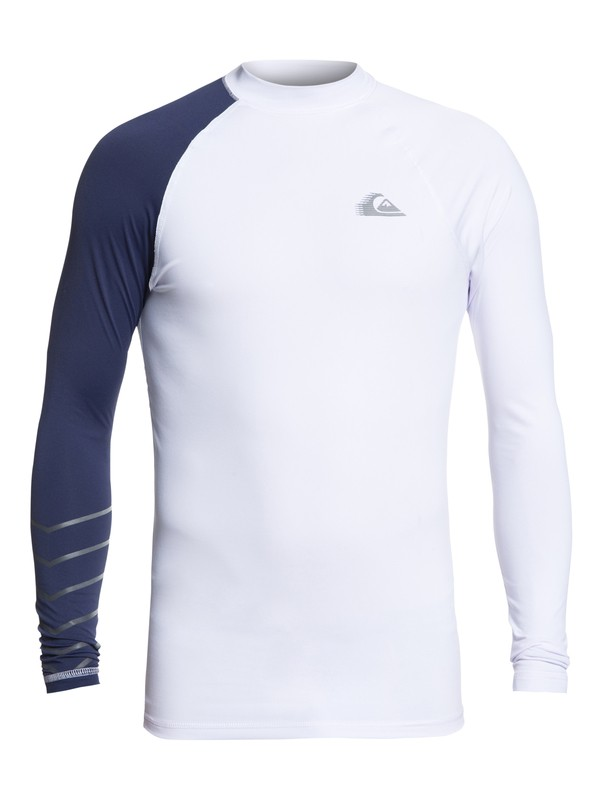 0 Active Long Sleeve UPF 50 Rash guard White EQYWR03113 Quiksilver