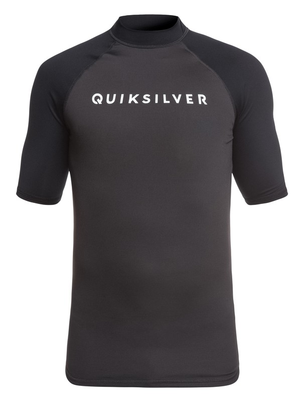 0 Always There - Short Sleeve UPF 50 Rash Vest for Men Black EQYWR03142 Quiksilver