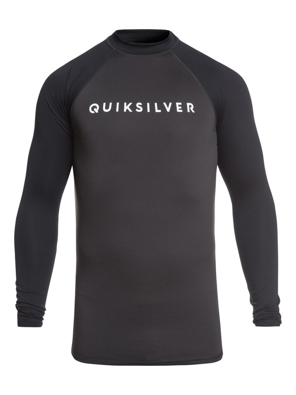 0 Always There Long Sleeve UPF 50 Rashguard Black EQYWR03143 Quiksilver