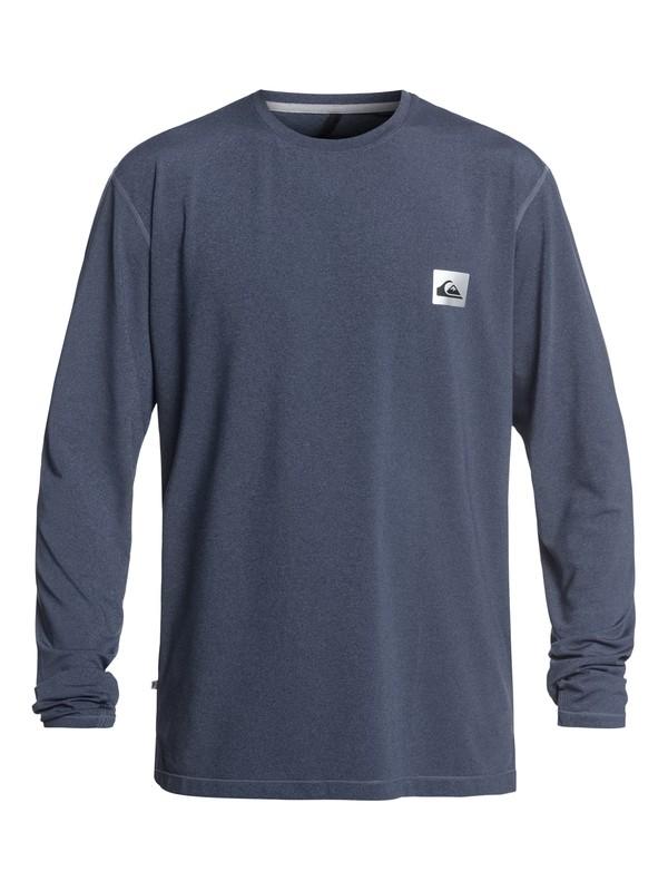 0 Salty Dog - Camiseta de Surf de Manga Larga con UPF 50 para Hombre Azul EQYWR03148 Quiksilver